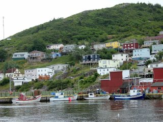 Overlooking the Fishing Boats