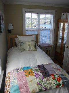 One of the Twin Beds in the Second Bedroom