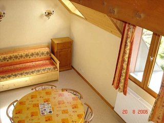2 rooms mezzanine 6 people 3épis exposed South-East