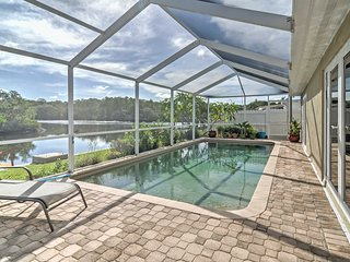 Waterfront Holiday House w/ Private Pool & Dock!