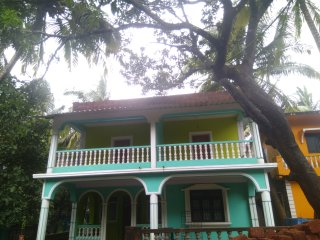 1 BHK with private balcony & common terrace, close to beach, Market & bus stand