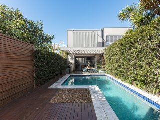 Slick four-bedroom Bondi terrace with lap pool