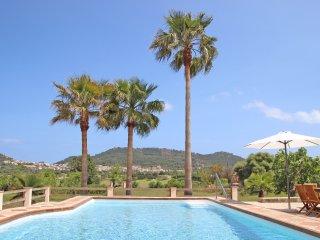 FINCA S' AGRET Ferienhaus zwischen Capdepera und Arta mit tollem Blick und Pool