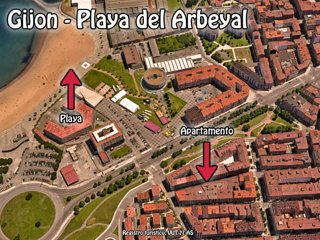 GIJON (LA CALZADA) - PLAYA DEL ARBEYAL