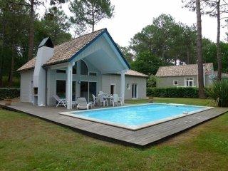 Maison avec piscine sur le golf de Biscarrosse