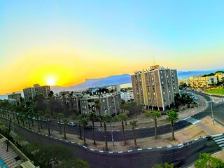 Sun Rise Panoramic View From The Apartment