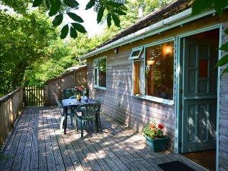 FORPE Log Cabin in Bude