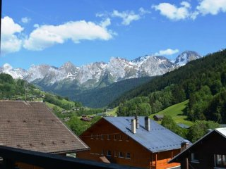 Rental Apartment Le Grand-Bornand, studio flat, 4 persons