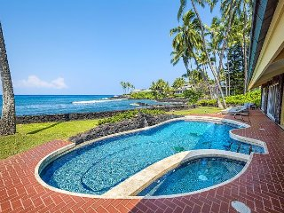 Awesome Oceanfront Gem ~ 6 Bdrms (5 King + 1 Bunkrm) Pool/Spa, Superb Sunsets