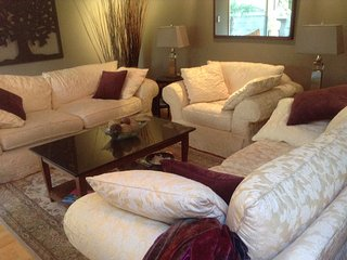 Fully furnished two bedroom two BR home available Nov1-Feb28