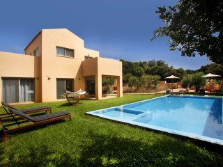 Brand-new 3bdrm villa with pool and privacy in Litsarda