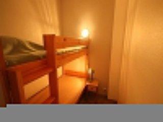 Appartement T1 cabine, dans résidence de vacances face mer