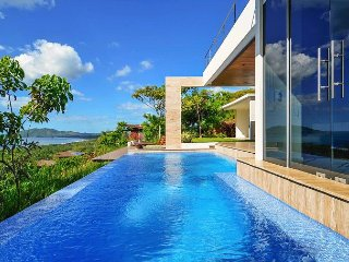 The infinity pool overlooks Playa Tamarindo and Playa Grande