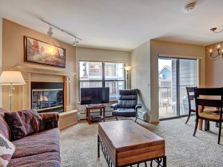 W323: Two Bedroom Condo & Loft in the Heart of Breckenridge