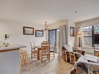 Cheery Two Bedroom Condo in the Heart of Breckenridge