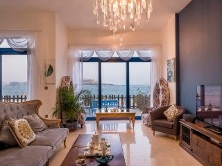 Bravoway Palma Residence Villa On Palma Jumeirah with Burj Arab View and Beach a