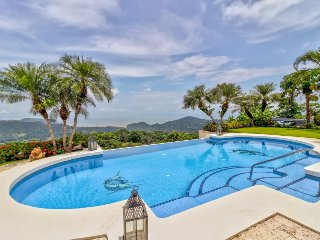 Gorgeous home with private pool & hot tub, patio area, and stunning views