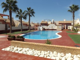 Camposol, Mazarron, 3 bed 2 bath Comm Pool, 8 persons, Casa Paraiso.