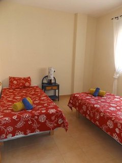 Bedroom 3. this has 2 x single beds.