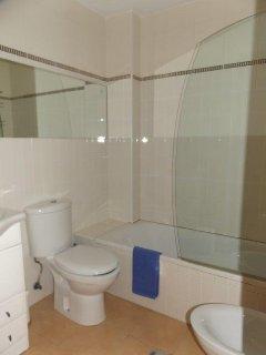Shower room for bedroom 2 & 3 use.