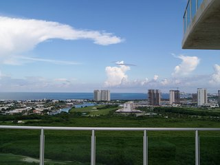 Spectacular Ocean and Lagoon Views - Puerto Cancun Luxury 3 Bedroom Penthouse