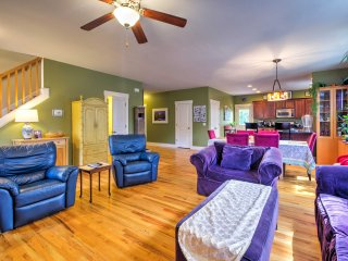 NEW! Elegant 4BR Asheville Home w/Sauna & 3 Decks!