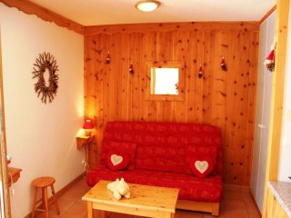 studio cabin 4 people 2 epis / 3* exposed South