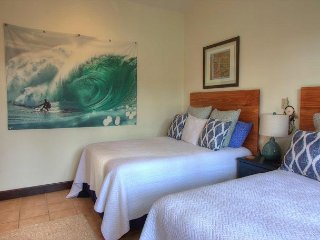 Beautiful surf art throughout the house
