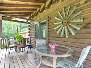 NEW! Tranquil 4BR Fletcher Cabin w/ Mountain Views