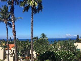 Palms at Wailea #1101 Great Ocean Views! Large Sun Deck!  2/2 Great Rates!