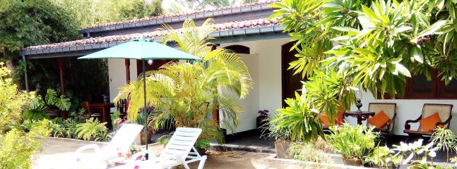 Deluxe Villa with Private Outdoor Dining Area