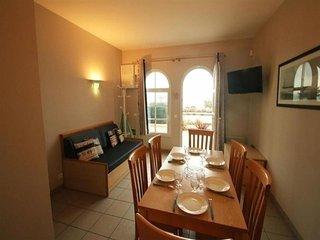Appartement T3 face mer, dans résidence de vacances