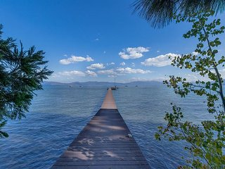 Olympic Lakefront Paradise with Private Pier, Buoy, & Hot Tub - Remodeled!
