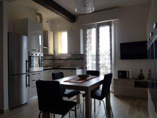 Cucina e balcone