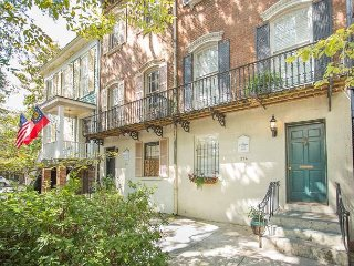 Stay Local in Savannah: Historic Jones Street Home with Private Parking!