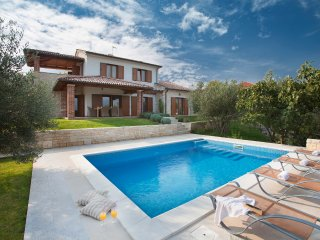 Beautiful Luxury Villa Maria with a swimming pool and a sea view