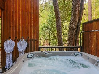 Big Rock Creek Lodge: Mountain Retreat w/ Views, Spa, On Creek, Pet Friendly