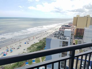 Ocean Reef 1519,   3 Bedroom, 2 Bath Angle Oceanfront Condo