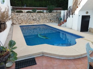 Villa in Calpe, pool, 4p,wifi