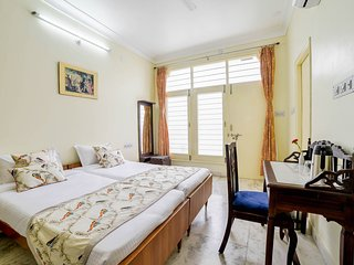 Plush Bedroom in Central Udaipur