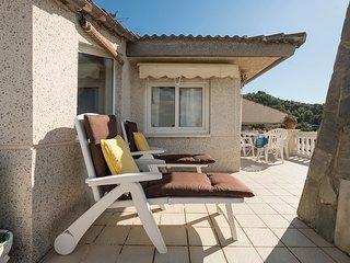 Marisol, con vistas inmejorables sobre Sitges y el mar.