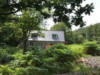 BWLCH GOCH WOODLAND RETREAT with Hot Tub