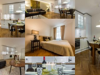 Luxury one bedroom ap. for 4
