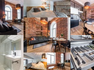 Loft in Rotermanni for 4