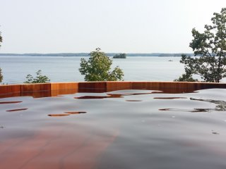 View of the Lake from the Hot tub