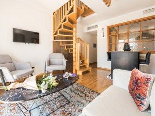 Amazing 4pax-2rooms City Center Luxury Penthouse - Chueca- Gra Via
