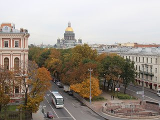 Mariinsky Theatre and St Isaac's Cathedral is near