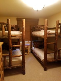 3rd bedroom with 2 sets of Bunk Beds