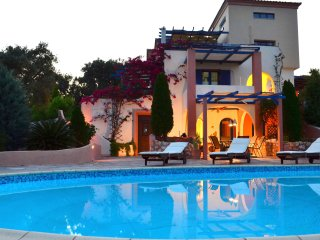 Sea View Villa Aerides with Private Pool in Vigles of Skiathos