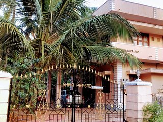 Mangalore Homestay Balakrishna, 10 Beds, 3 Baths Near Udupi and Malpe Beach